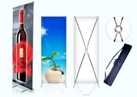 Roll-Up-&-X-Stand-Banner